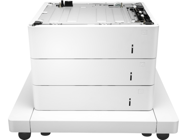 HP LaserJet 3x550-sheet paper feeder with cabinet
