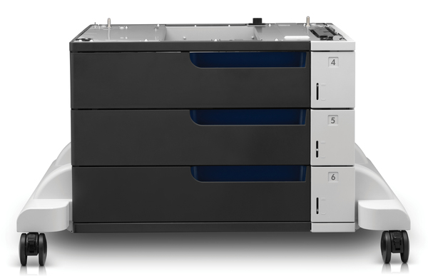 HP Color LaserJet 3x500-sheet Paper Feeder and Stand