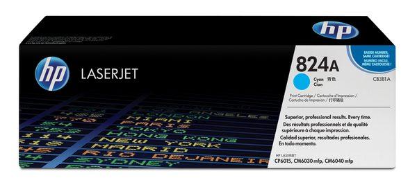 HP Color LaserJet CB381A Cyan Print Cartridge