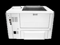 HP LaserJet Pro M501dn, rear view