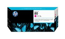 HP 80 Magenta Printhead and Printhead Cleaner