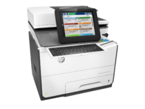 HP PageWide Enterprise Color Flow MFP 586z, PageWide Technology, automatic duplexing, right view, ke