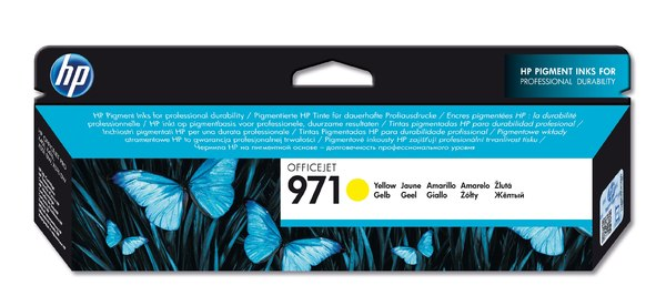 HP 971 Yellow Officejet Ink Cartridge