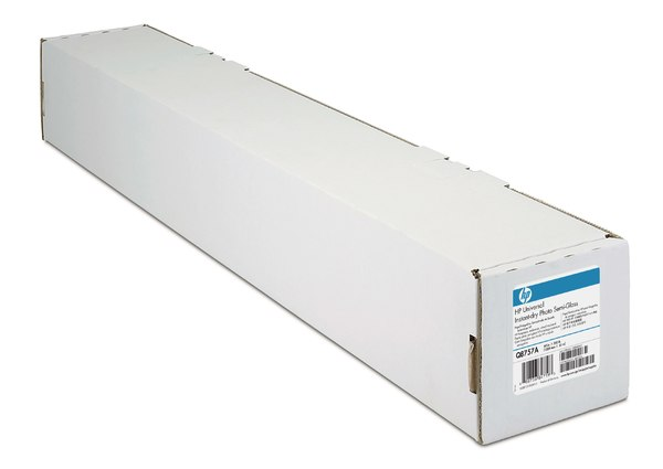 HP Universal Instant-dry Semi-gloss Photo Paper-1524 mm x 61 m (60 in x 200 ft)