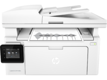 HP LaserJet Pro MFP M130fw, Center, Front, with output