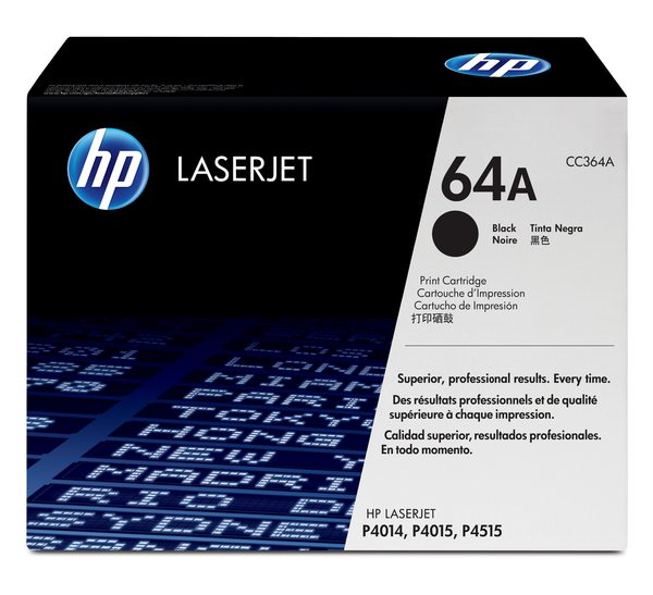 HP LaserJet CC364A Black Print Cartridge