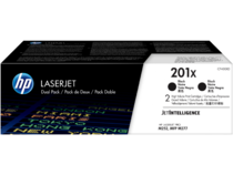 HP LaserJet Dual Pack Print Cartridge - 201X