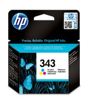 HP 343 Tri-color Inkjet Print Cartridge