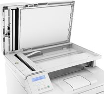 HP LaserJet Pro MFP M227sdn, Detailed view of scanbed