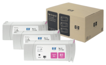 HP 81 3-pack 680-ml Magenta Dye Cartridges
