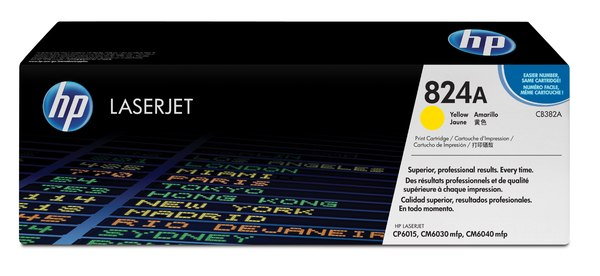 HP Color LaserJet CB382A Yellow Print Cartridge