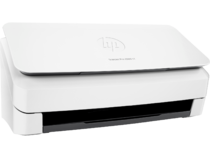 HP ScanJet Pro 2000 s1 sheet-feed Scanner, Hero, Right facing, closed, no output