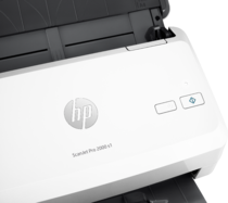 HP ScanJet Pro 2000 s1 sheet-feed Scanner, Detailed view of control buttons