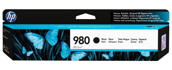 HP 980 Black Original Ink Cartridge