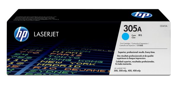 HP 305A Cyan LaserJet Print Cartridge