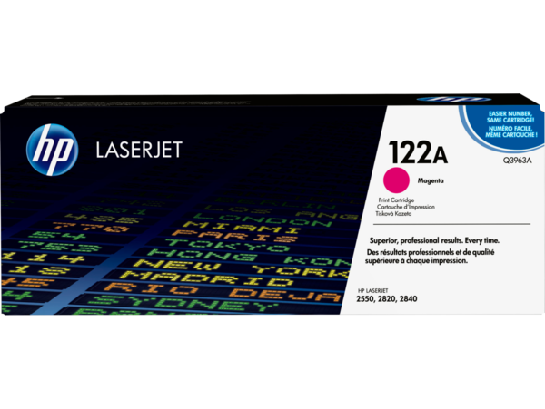 EMEA version - HP LaserJet 122A Magenta Print Cartridge