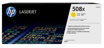 HP 508X High Yield Yellow Original LaserJet Toner Cartridge