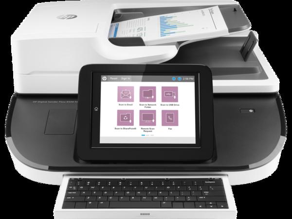 HP Digital Sender Flow 8500fn2 Document Capture Workstation