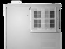 HP Color LaserJet Enterprise M553dn, color printer, rear view