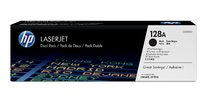 HP 128A Black Dual Pack LaserJet Toner Cartridges