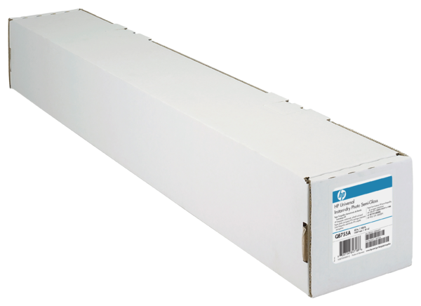 HP Universal Instant-dry Semi-gloss Photo Paper-1067 mm x 61 m (42 in x 200 ft)