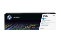 HP LaserJet 410A Cyan Print Cartridge (EMEA), center facing
