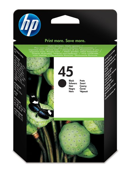 HP 45 Black Inkjet Print Cartridge