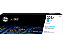 HP LaserJet Print Cartridge, 205A, Cyan
