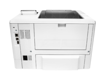 HP LaserJet Pro M501n, rear view