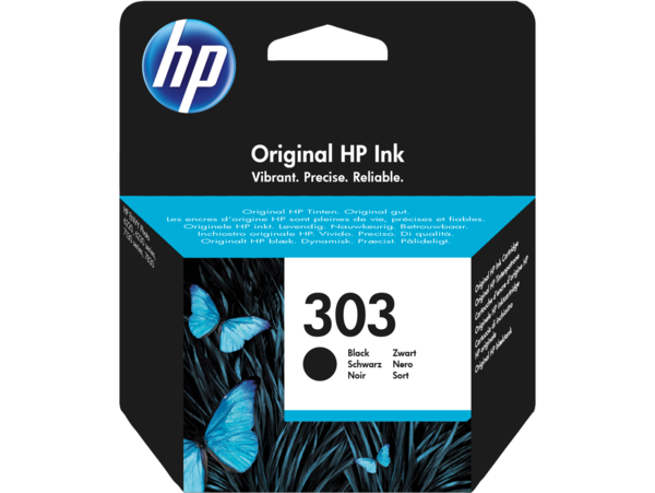 HP 303 Black Original Ink Cartridge