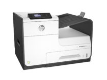 HP PageWide Pro 452dw Printer, Right facing, no output
