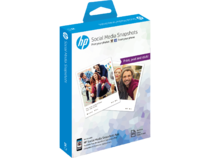 HP Social Media Snapshots Removable Sticky Photo Sheets