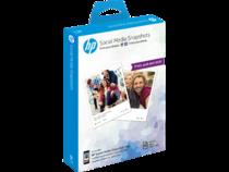 HP Social Media Snapshots Removable Sticky Photo Sheets