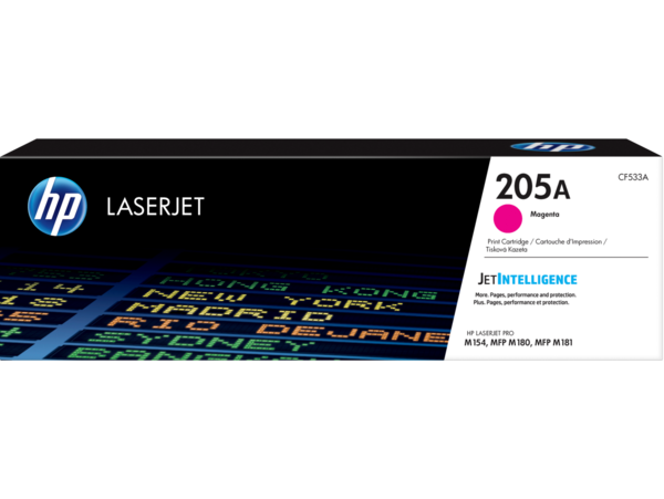 HP LaserJet Print Cartridge, 205A, Magenta