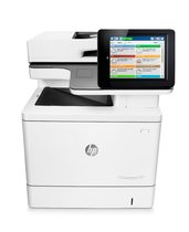 HP Color LaserJet Enterprise MFP M577dn, center view