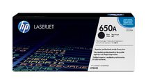 HP 650A Black LaserJet Print Cartridge