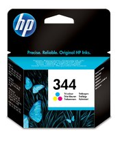 HP 344 Tri-Color Inkjet Print Cartridge