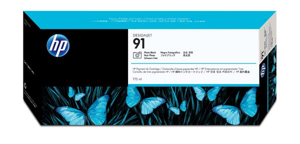 HP 91 775-ml Pigment Photo Black Ink Cartridge