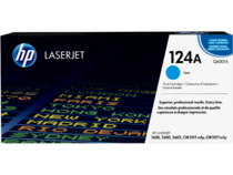 EMEA version - HP LaserJet 124A Cyan Print Cartridge