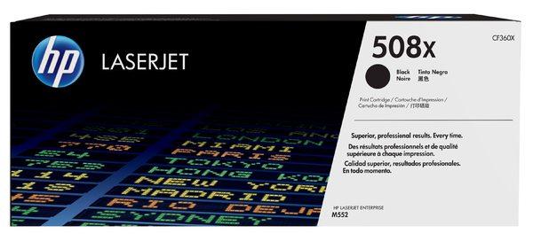 HP 508X High Yield Black Original LaserJet Toner Cartridge