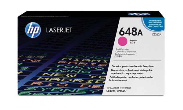 HP Color LaserJet CE263A Magenta Print Cartridge