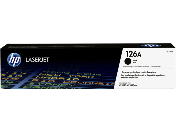 EMEA version - HP LaserJet 126A Black Print Cartridge