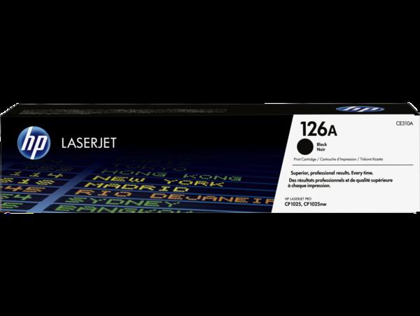 EMEA version - HP LaserJet 126A Black Print Cartridge