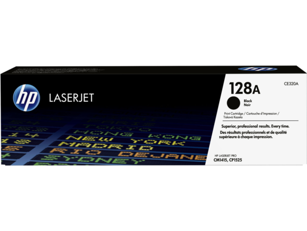 HP LaserJet 128A Black Print Cartridge