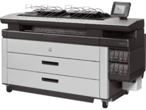 HP PageWide XL 5100 Printer_Left_stacker
