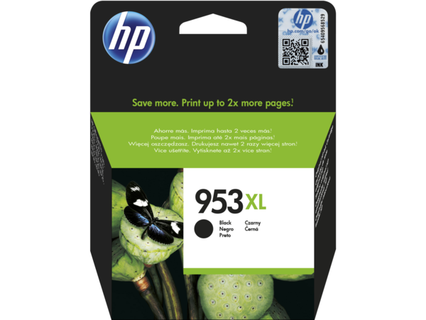 HP 953XL High Yield Black Original Ink Cartridge