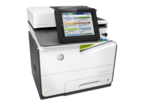 HP PageWide Enterprise Color MFP 586dn printer, PageWide Technology, automatic duplexing, right view