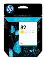 HP 82 69-ml Yellow Ink Cartridge