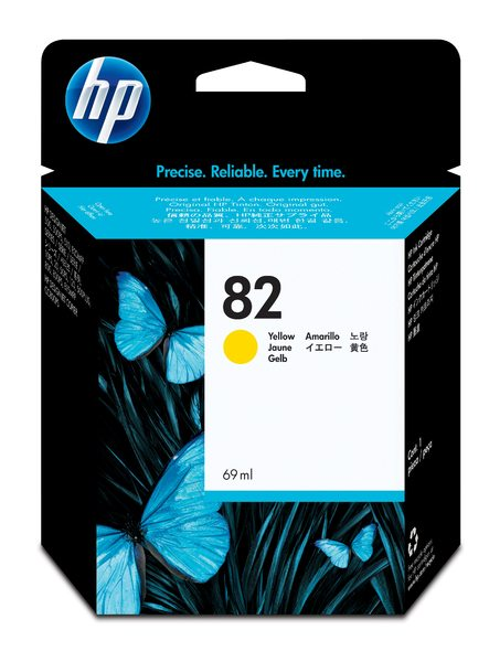 HP 82 69-ml Yellow Ink Cartridge