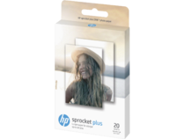HP Sprocket Plus Photo Paper 2.3x3.4, 20 sheets, EMEA, 2LY72A TO BE USED BY EMEA REGION ONLY